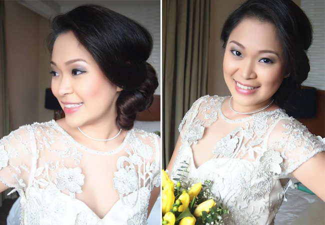 Real Bride Hair and Makeup by Lindsay Makeup Artistry