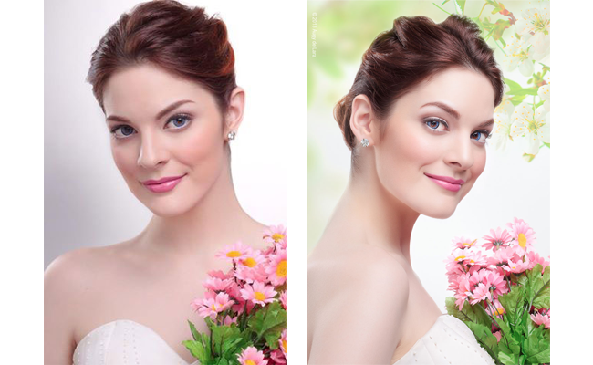 Bridal Makeup by Lizzie Oren