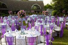 Wedding Setup At El Fuente Garden Velada Estate