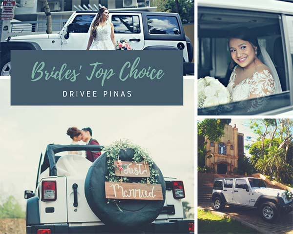 Drivee Pinas| Metro Manila Bridal Cars | Metro Manila Bridal Carriages | Metro Manila Bridal Calesas | Kasal.com - The Philippine Wedding Planning Guide