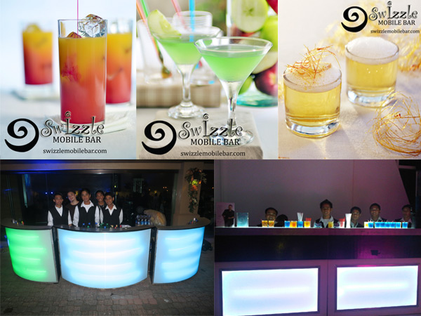Swizzle Mobile Bar Metro Manila Wedding Wines Beverage Caterers