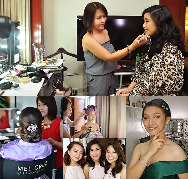 About Face by Mel Cruz  Metro Manila Bridal Hair & Make-up Salons   Metro Manila Bridal Hair & Make-up Artists   Kasal.com - The Philippine Wedding Planning Guide