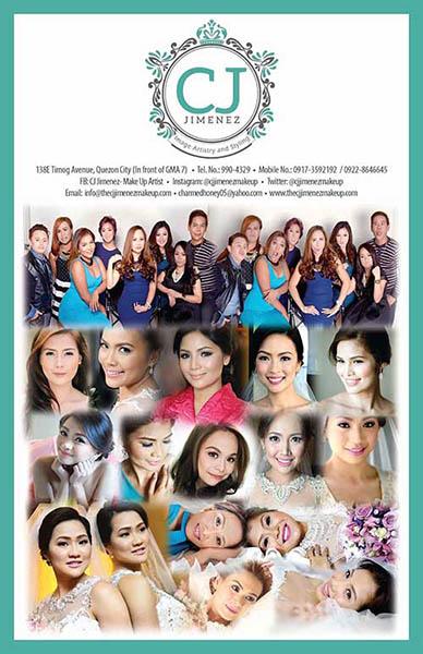 CJ Jimenez Image Artistry and Styling| Metro Manila Bridal Hair & Make-up Salons | Metro Manila Bridal Hair & Make-up Artists | Kasal.com - The Philippine Wedding Planning Guide