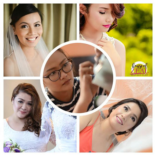House of Zeal Hair and Makeup Specialists| Metro Manila Bridal Hair & Make-up Salons | Metro Manila Bridal Hair & Make-up Artists | Kasal.com - The Philippine Wedding Planning Guide