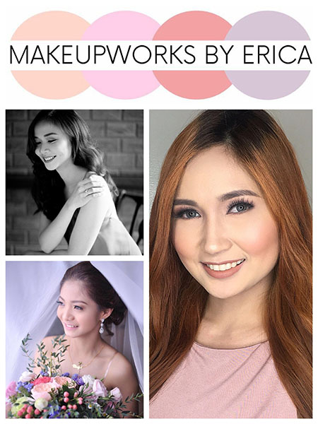 Makeup Works by Erica| Cavite Bridal Hair & Make-up Salons | Cavite Bridal Hair & Make-up Artists | Kasal.com - The Philippine Wedding Planning Guide