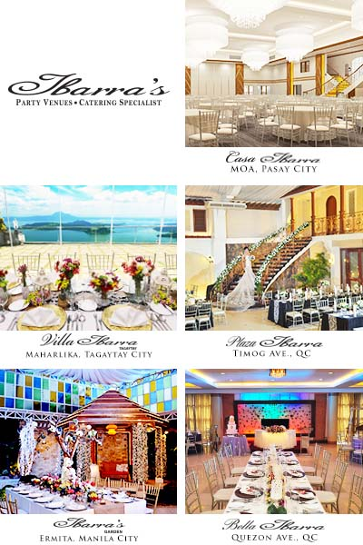 Ibarra's Party Venues & Catering Services | Cavite Wedding