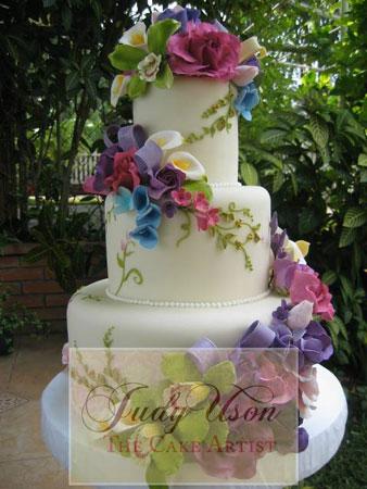 Judy Uson Wedding Cakes Manila