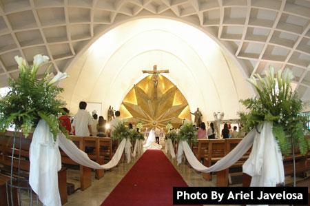Saint John Bosco Parish Don Chapel Metro Manila Wedding Catholic Churches