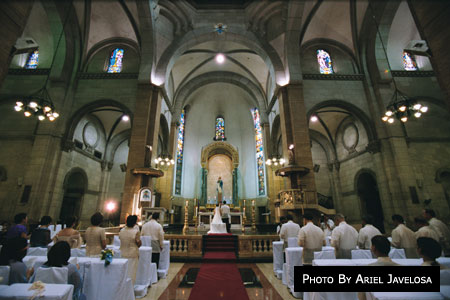 Minor Basilica Of The Immaculate Conception Manila Cathedral Metro Wedding Catholic Churches