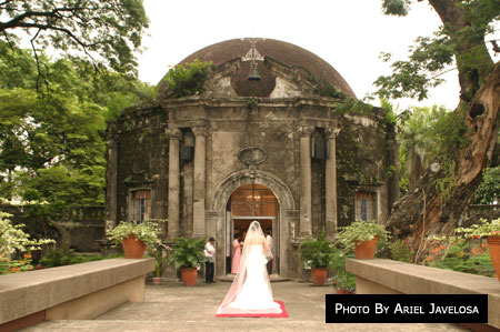St Pancratius Chapel Paco Park Metro Manila Wedding Catholic Churches