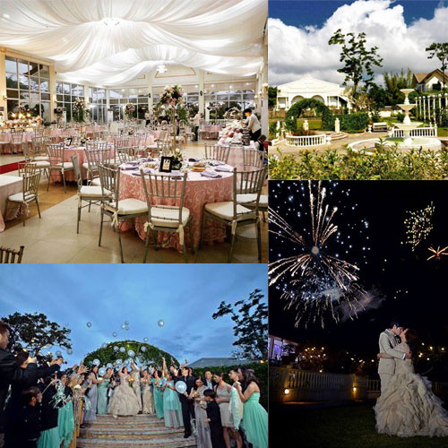 Mahogany place tagaytay cavite garden wedding cavite for Tagaytay wedding venue