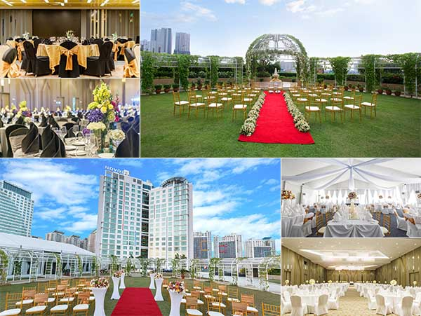 Novotel Manila Araneta Center| Metro Manila Garden Wedding | Metro Manila Garden Wedding Reception Venues | Kasal.com - The Philippine Wedding Planning Guide