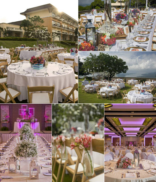 Taal Vista Hotel Cavite Garden Wedding Reception Venues Kasal