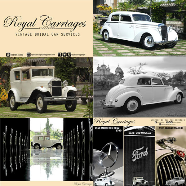 Royal Carriages Metro Manila Bridal Cars Metro Manila Bridal