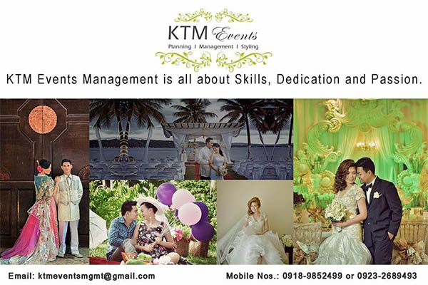 KTM Events Management| Metro Manila Wedding Planning | Metro Manila Wedding Planners | Kasal.com - The Philippine Wedding Planning Guide