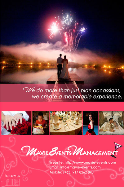 MAVIE Events Management| Cavite Wedding Planning | Cavite Wedding Planners | Kasal.com - The Philippine Wedding Planning Guide