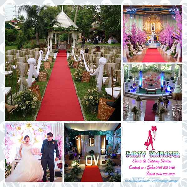 Party Manager Events & Catering Services| Cavite Wedding Planning | Cavite Wedding Planners | Kasal.com - The Philippine Wedding Planning Guide