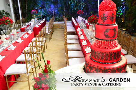 by Ibarra's Party Venues & Catering Services