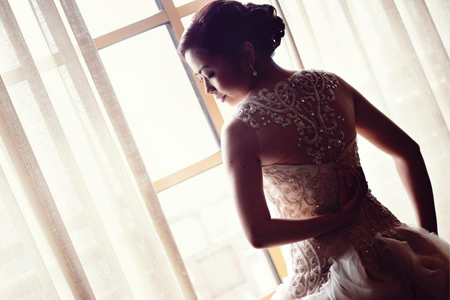 Wedding Gown  by Mara M. Dizon Style and Fashion