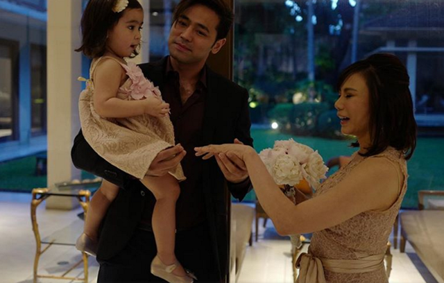 vicky belo wedding