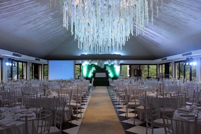 hillcreek gardens tagaytay white wedding 1