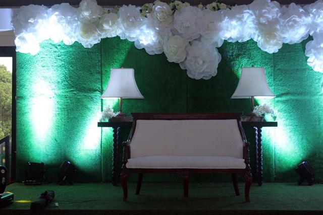 hillcreek gardens tagaytay white wedding