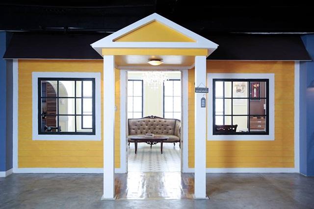 studio namu themed background modern house