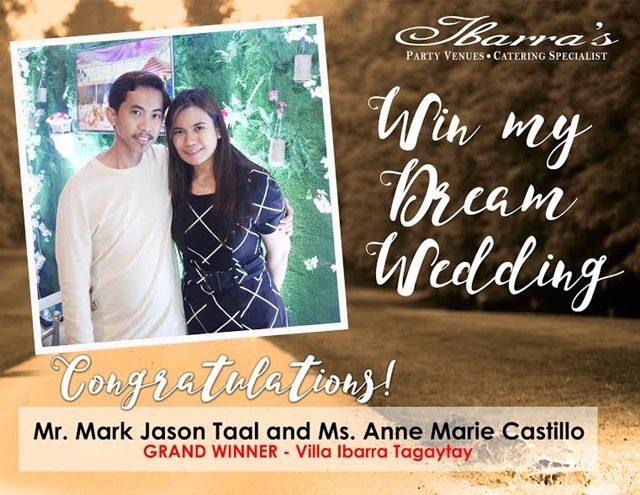 win my dream wedding promo