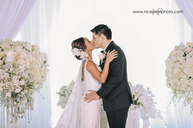 LOOK Rochelle Pangilinan and Arthur Solinap Official Wedding Photos