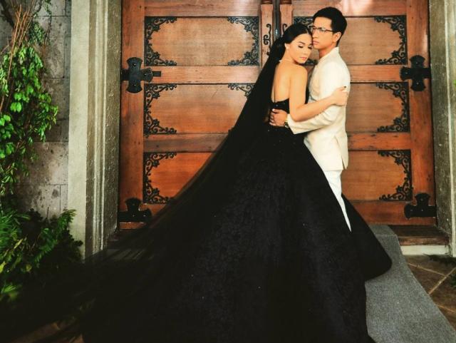 Black Wedding Gown: LOOK: Maja Salvador Wears Black Wedding Dress For ABS-CBN