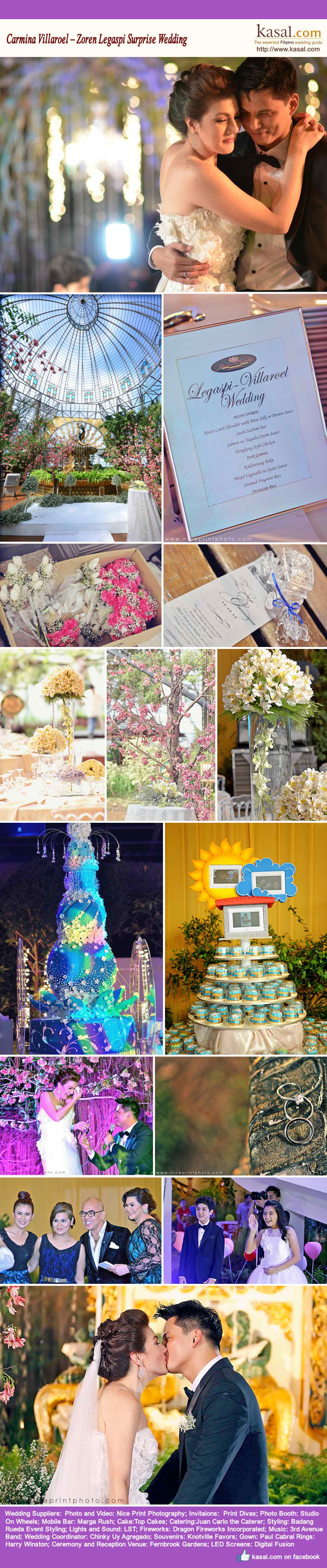 Featured Wedding: Regine & Ogie | Bridal Book FN