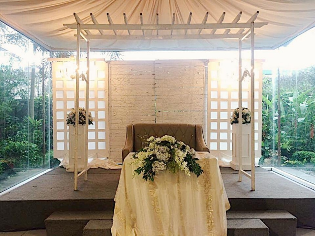 sitio elena simple elegant wedding
