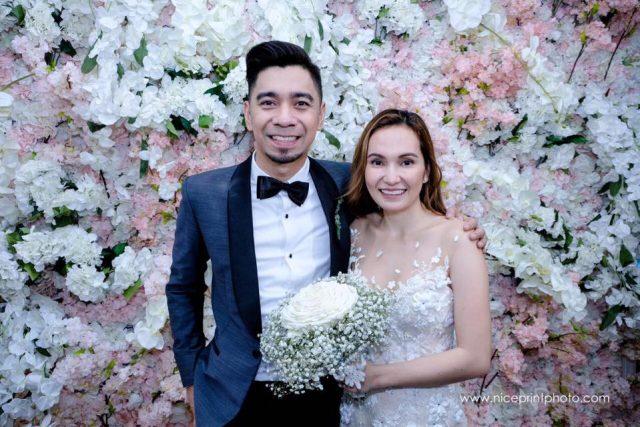 teddy jasmine wedding nice print