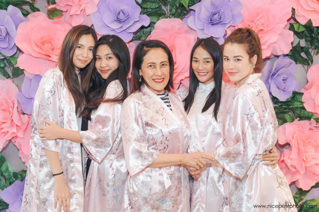 ai ai delas alas bridal shower marian rivera organized a spa themed