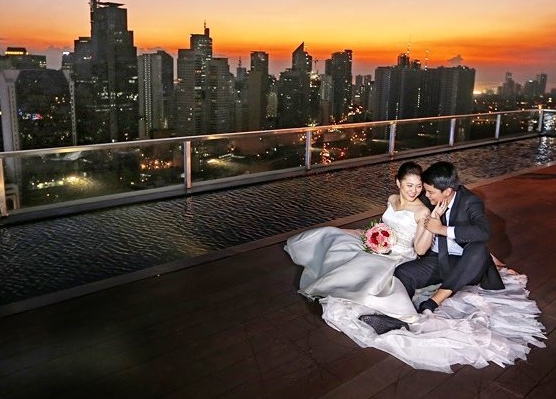 city garden grand hotel wedding