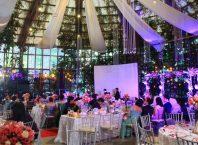 indoor wedding the glass garden