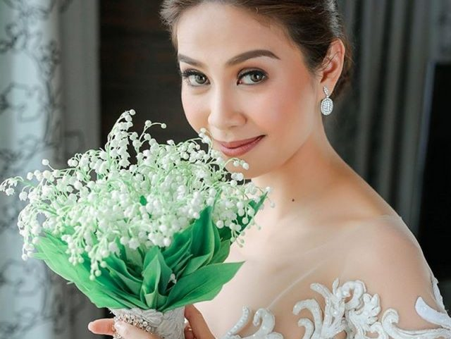 kay abad wedding bouquet