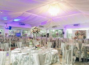 sitio elena floral studded wedding