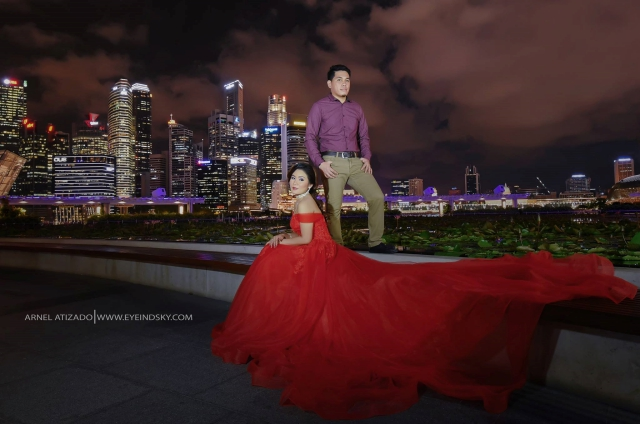 eye in d sky sg prenup shoot