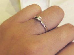 karat world diamond ring