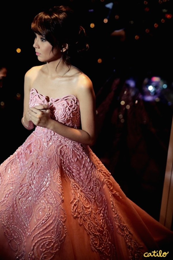 kathryn bernardo debut gown catilo photography