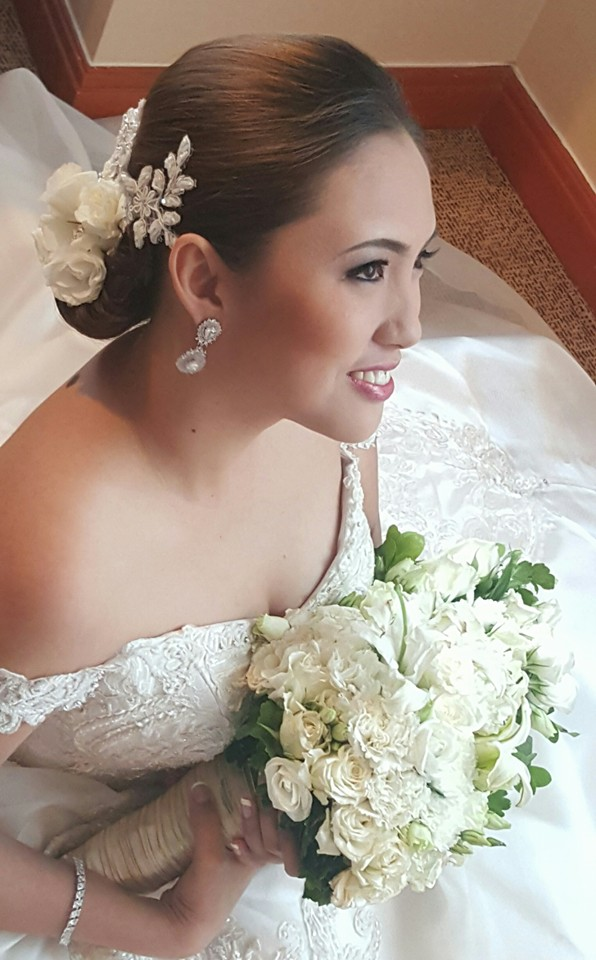 lindsay lin bridal look