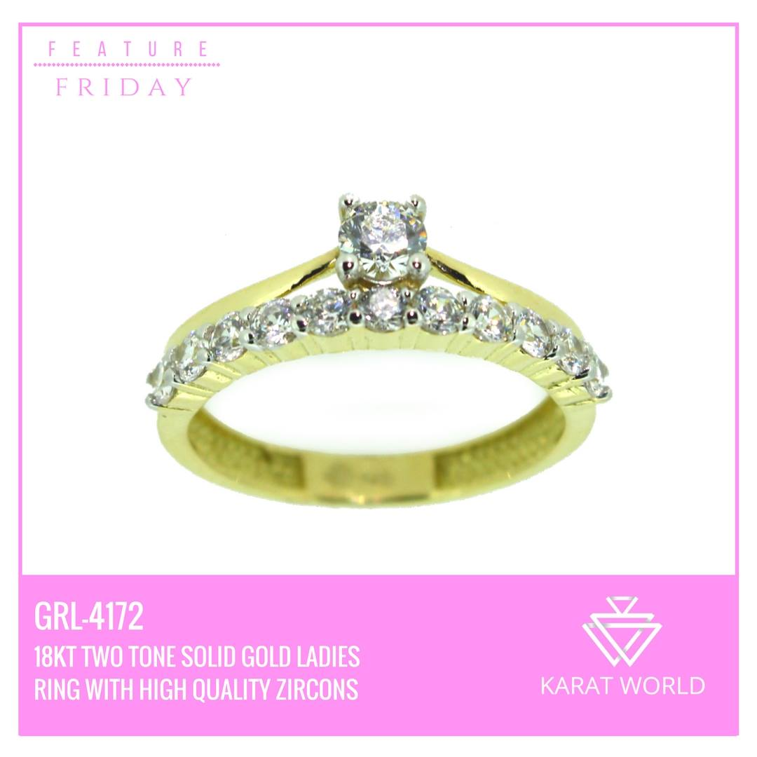 Solid Gold Ring Karat World