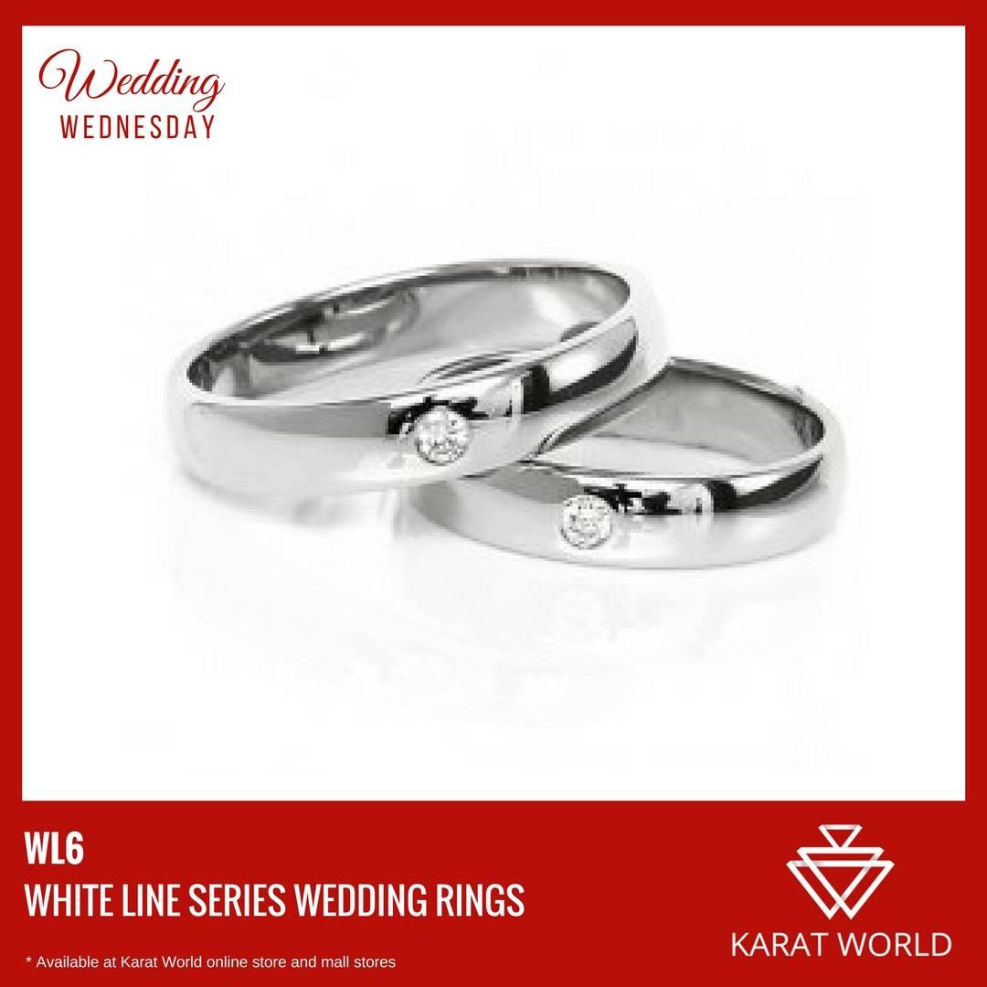 white gold wedding ring karat world