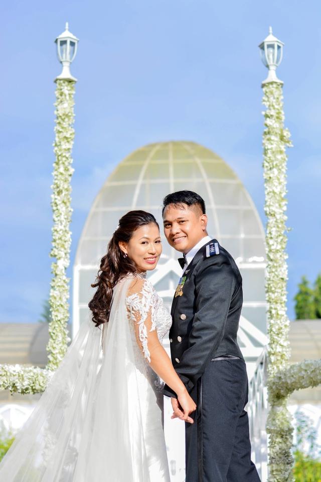 marvin irene tagaytay wedding eye in d sky
