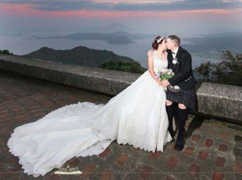 taal vista hotel wedding