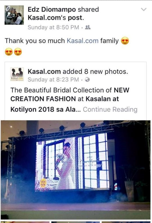 kasalan at kotilyon 2018 alabang fb