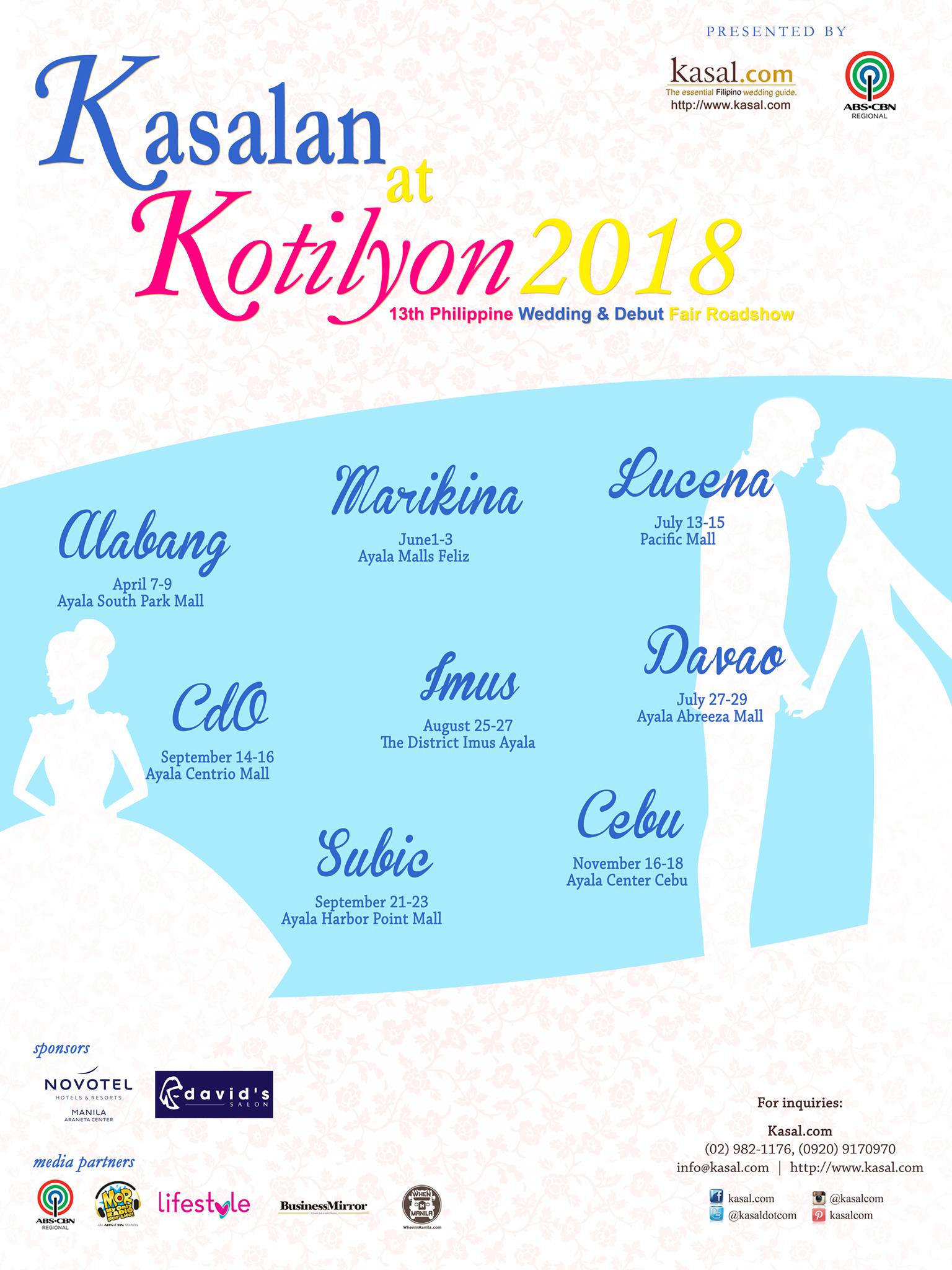 kasalan at kotilyon 2018 official poster