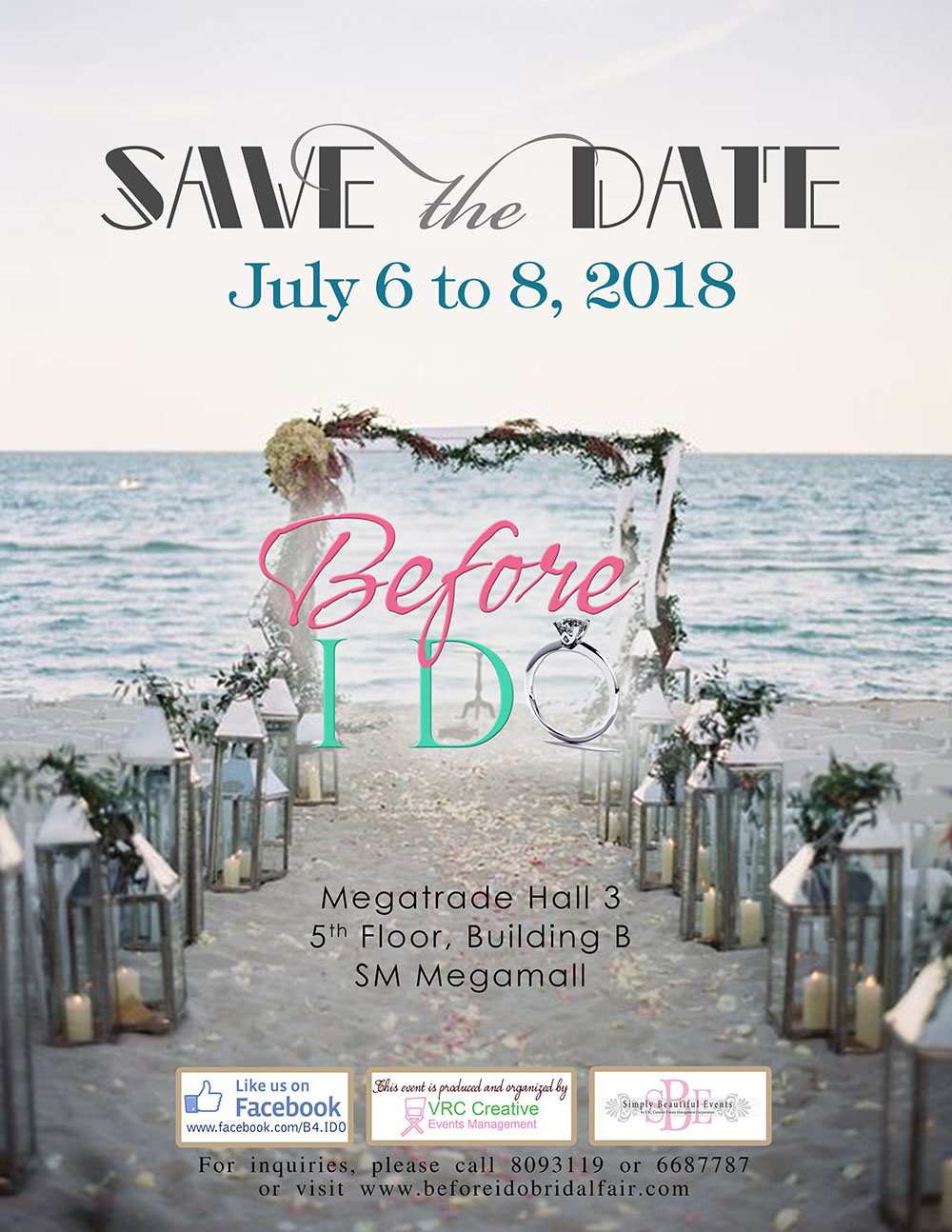 6 July 2018 Released Movie: Before I Do Bridal Fair