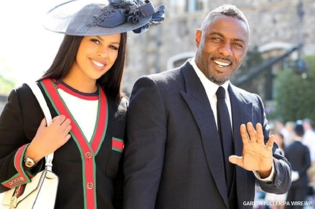 #royalwedding2018 idris elba sabrina dhowre cnn ph